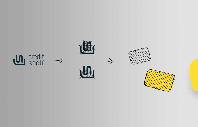 Creditshelf Corporate Design Formsprache