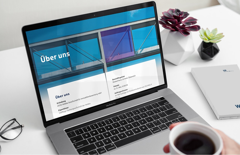HIB Corporate Website Online Digital Webauftritt