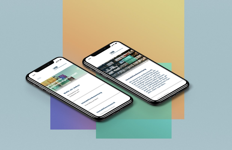 HIB Corporate Website Online Digital Webauftritt Mobile