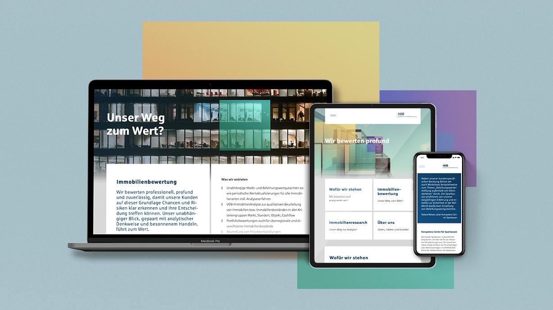 HIB Corporate Website Online Digital Webauftritt Responsive