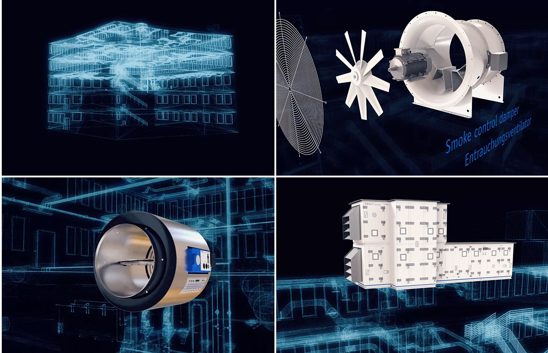 TROX ISH Messe Produktfilm Geräte