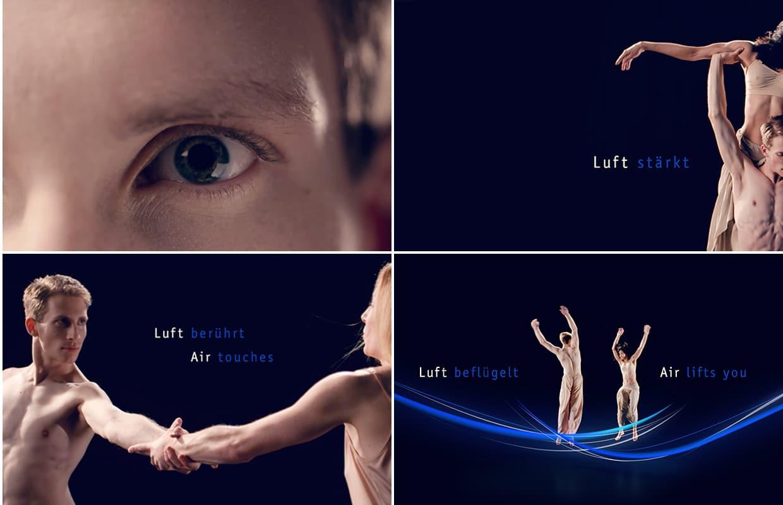 TROX ISH Messe Image- und Produktfilm Tanz