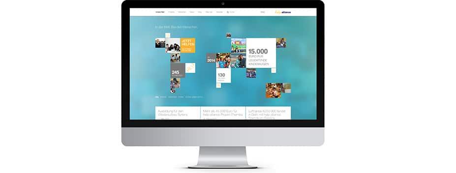 Brand und Corporate Design help alliance Digital