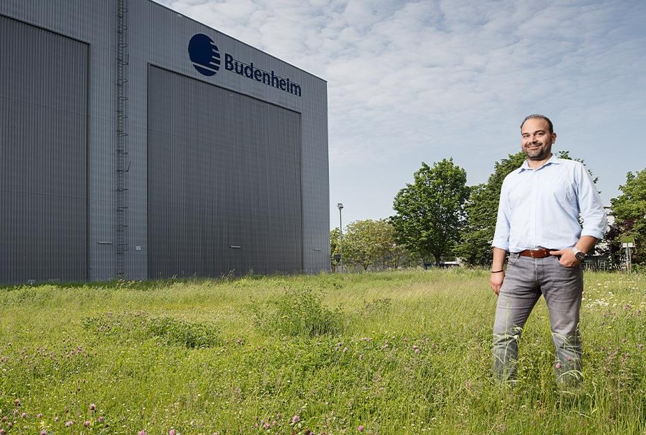 Umweltbroschüre Budenheim Fabrik Natur