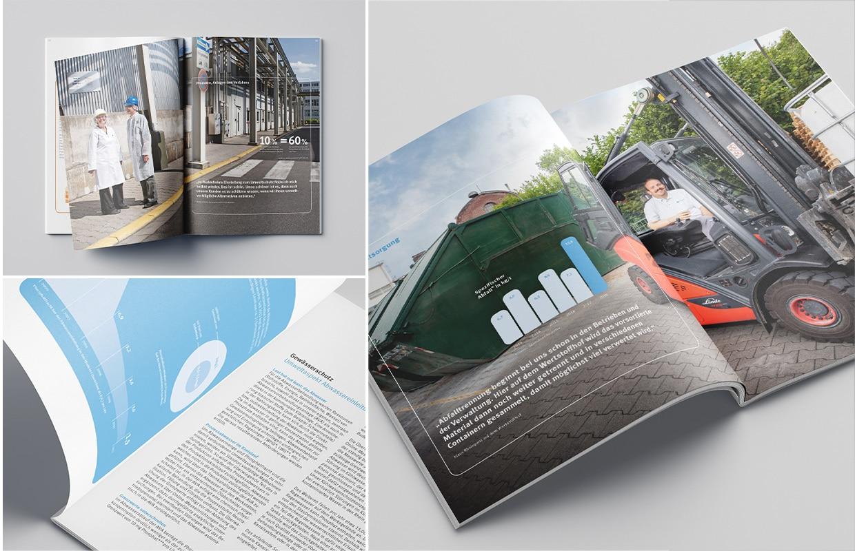 Budenheim Umweltbroschüre Design Print