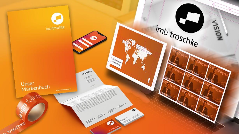 imb troschke Corporate Design Webauftritt