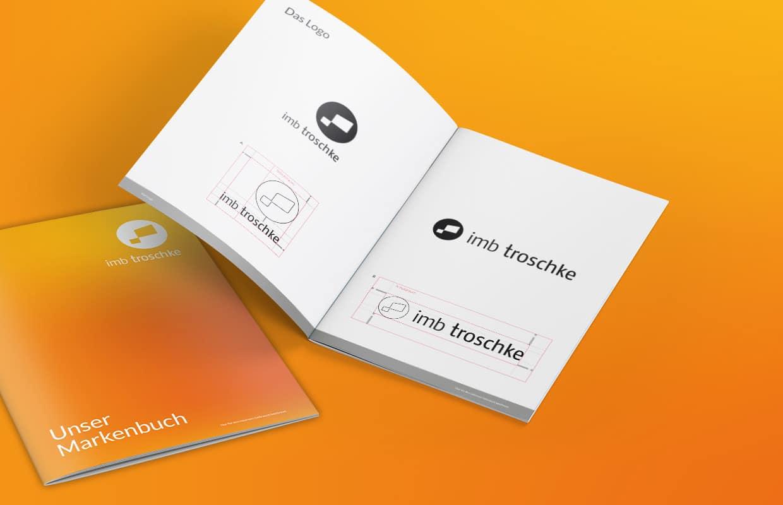 imb troschke Corporate Design Markenbuch