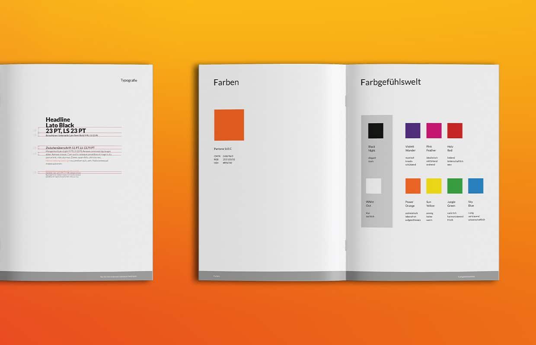 imb troschke Corporate Design Markenbuch Colors