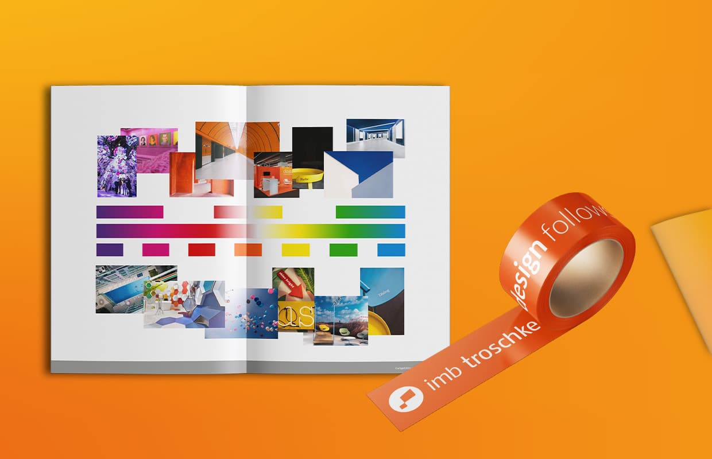 imb troschke Corporate Design Markenbuch Grafik
