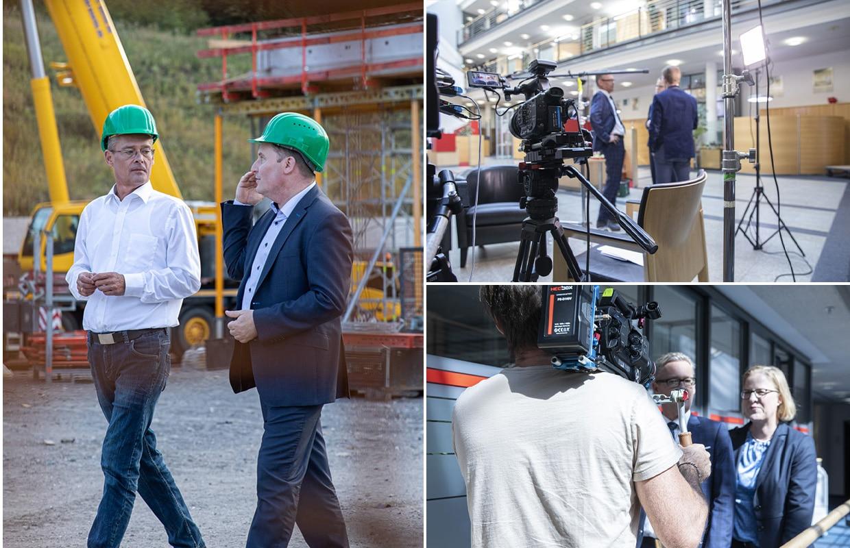 Storyproduktion Helaba Tor zur Stadt Behind the Scenes