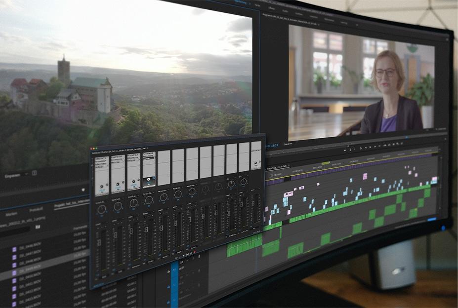 Storyproduktion Helaba Tor zur Stadt Editing Videoschnitt